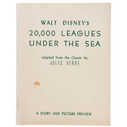Harper Goff (3) 20,000 Leagues related research ephemera.