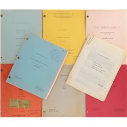 Writer John D.F. Black collection of (8) TV scripts including The Untouchables, Hawaii Five-O & more