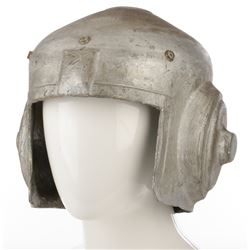 """Future soldier helmet from The Outer Limits, Season 2, Episode 1: """"Soldier""""."""
