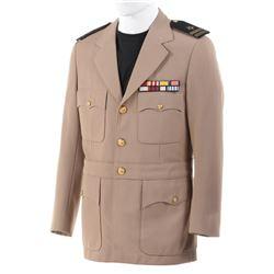 "Jack Lord ""Steve McGarrett"" cream Officers Military jacket from Hawaii Five-0 Season 3."