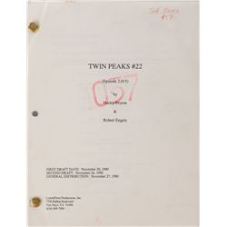 Twin Peaks collection of production & series ephemera from the collection of prop master Jeff Moore.