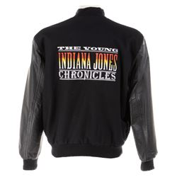 Frank Darabont personalized crew jacket from The Young Indiana Jones Chronicles.