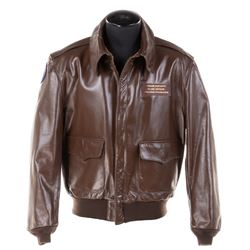 Frank Darabont personalized B-17 Nine-O-Nine bomber jacket from the Collings Foundation.
