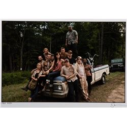Frank Darabont personal cast photograph from The Walking Dead - Season 1.