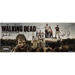 Frank Darabont personal signed poster from The Walking Dead - Season 1.