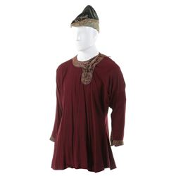 """Allen Jaffe """"Tybald"""" tunic and hat from The Warlord."""