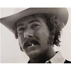 Dustin Hoffman oversize portrait photograph.