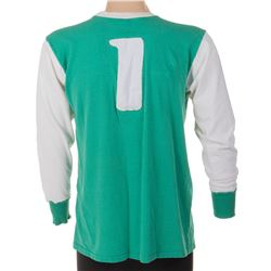 """Craig R. Baxley """"Madrid Biker #1"""" screen used jersey from Rollerball."""
