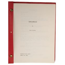 """The Enforcer First Draft script with working title """"Dirty Harry #3""""."""