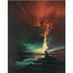 Original Bob Peak poster concept artwork for Apocalypse Now.