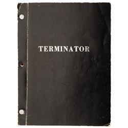 The Terminator Fourth Draft shooting script.