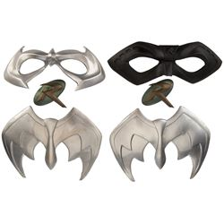 """Chris O'Donnell """"Robin"""" (6) Accessories from Batman Forever and Batman and Robin."""