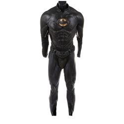 """Val Kilmer """"Batman"""" Panther and Sonar suit pieces from Batman Forever."""