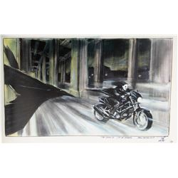 The Crow: City of Angels concept artwork and storyboards.