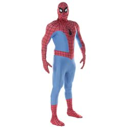 Universal Studios Hollywood Spider-Man walk-around costume with muscle undersuit.