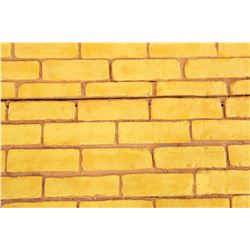"""Large section of """"Yellow Brick Road"""" from The Muppets' Wizard of Oz."""