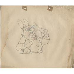 "Ub Iwerks Columbia Studios (100+) animation drawings for Color Rhapsodies ""The Foolish Bunny""."