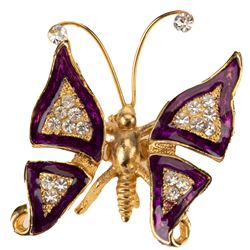 Mouseketeer Annette Funicello personal butterfly brooch.