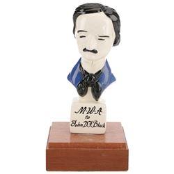 Writer John D.F. Black's Edgar Allen Poe award from the Mystery Writers of America.
