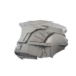 Original AT-AT miniature cockpit fragment from the production of Star Wars: The Empire Strikes Back.