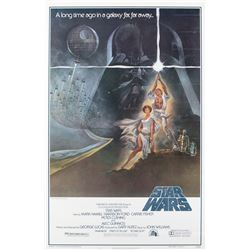 Star Wars: Episode IV - A New Hope 1-sheet Style A poster.