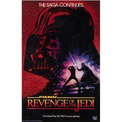 "tar Wars: Episode VI - Return of the Jedi ""Revenge of the Jedi"" dated-style teaser 1-sheet poster."