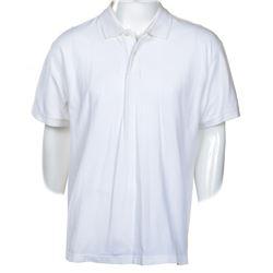 "Adam Sandler ""Michael Newman"" white polo shirt from Click."