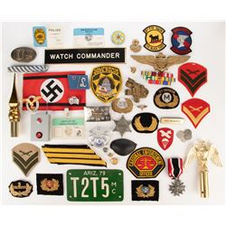 Collection of (100+) Military/Police and other accessories from Inglourious Basterds and others