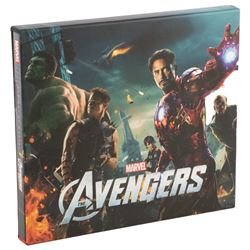 """Stan Lee and cast signed """"The Art of the Avengers"""" hardbound book."""