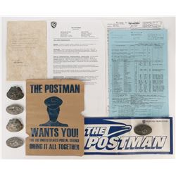 The Postman props and production ephemera.