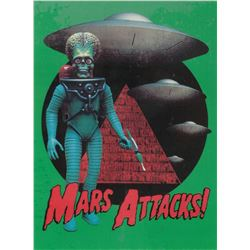 Mars Attacks! production bible, including (4) scripts, miscellaneous ephemera and storyboards.