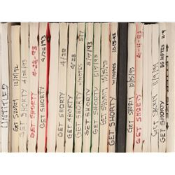 Barry Sonnenfeld's archive of (31) Get Shorty scripts including the director's shooting script.