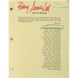Barry Sonnenfeld's Men in Black script.