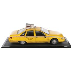 Barry Sonnenfeld's N.Y.C. Taxicab filming miniature from Men in Black.