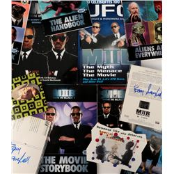 Men in Black and MIB II (23) retail books and merchandise.