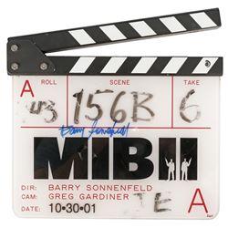 MIB II clapperboard signed by Barry Sonnenfeld.