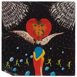 Pink Floyd, Jeff Beck, Blue Cheer concert poster.