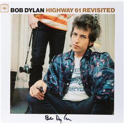 """Bob Dylan Signed Album """"Highway 61 Revisited""""."""