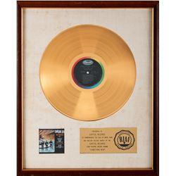 "The Beatles RIAA White Matte Gold Award for ""Something New""."