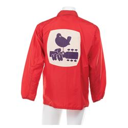 Woodstock Music Festival official security jacket.