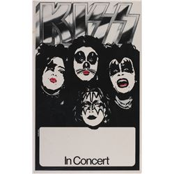 KISS early concert poster.