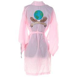 "Michael Jackson Dangerous World Tour ""Heal the World"" pink kimono."
