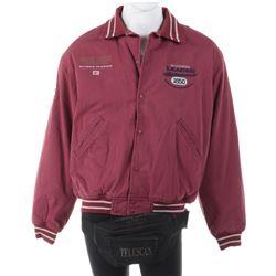 Michael Jackson Dangerous World Tour band tour jacket from Olympic Stadium Stockholm, Sweden.