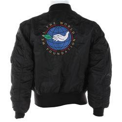 "Michael Jackson Dangerous World Tour ""Heal the World"" crew jacket."