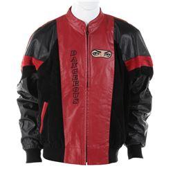 "Michael Jackson Dangerous World Tour ""Heal the World"" crew leather jacket."