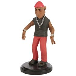 """""""LL Cool J"""" stop motion puppet from Celebrity Deathmatch."""