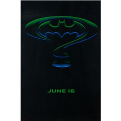 Batman collection of (16) 90's rolled movie posters.