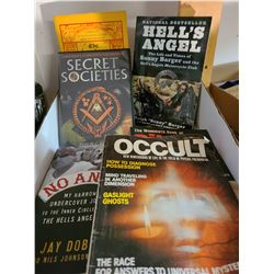 Books on Hell's Angels & Cylts cat A