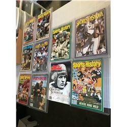 Sports History Magazines Cat B