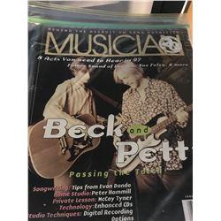 Assortment of Guitar & Music magazines. Cat B